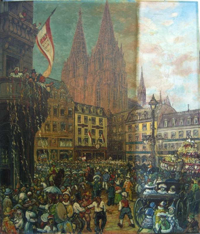 Köln Gemälderestaurierung