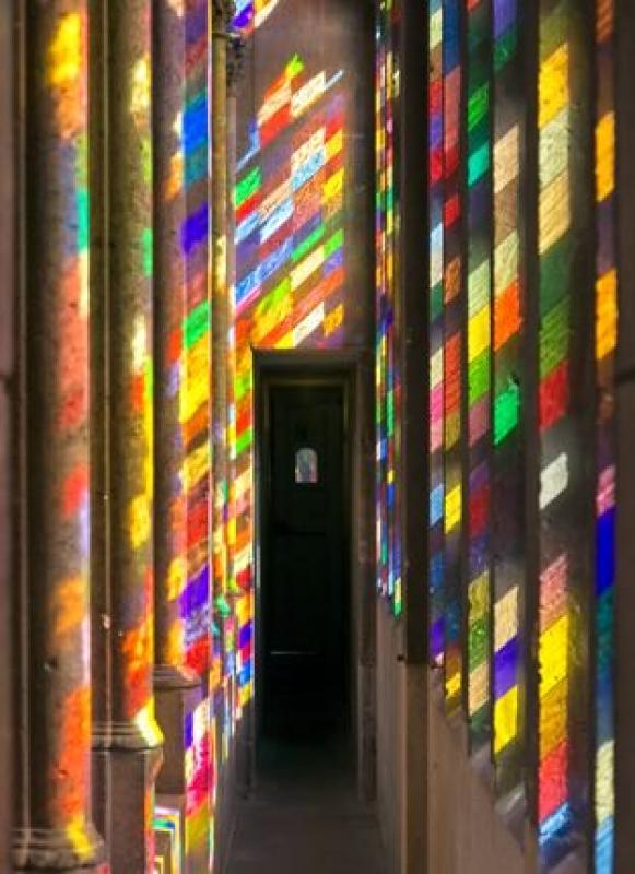 Michael WelschenbachTriforium Richterfenster Licht