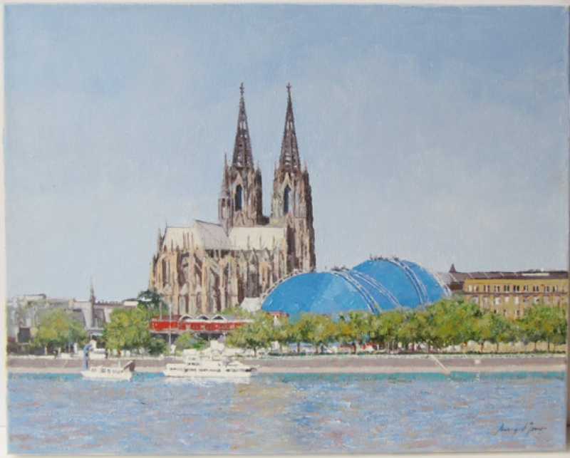 Amengual Jover - Amengual Jover Dom in Köln mit Zelt Galerie Wehr