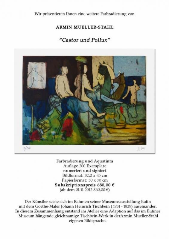 Müller-Stahl Castor und Pollux Galerie Wehr