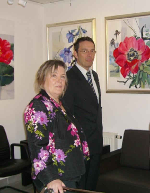 Gerda Nietzer zu Gast i.d. galerie wehr