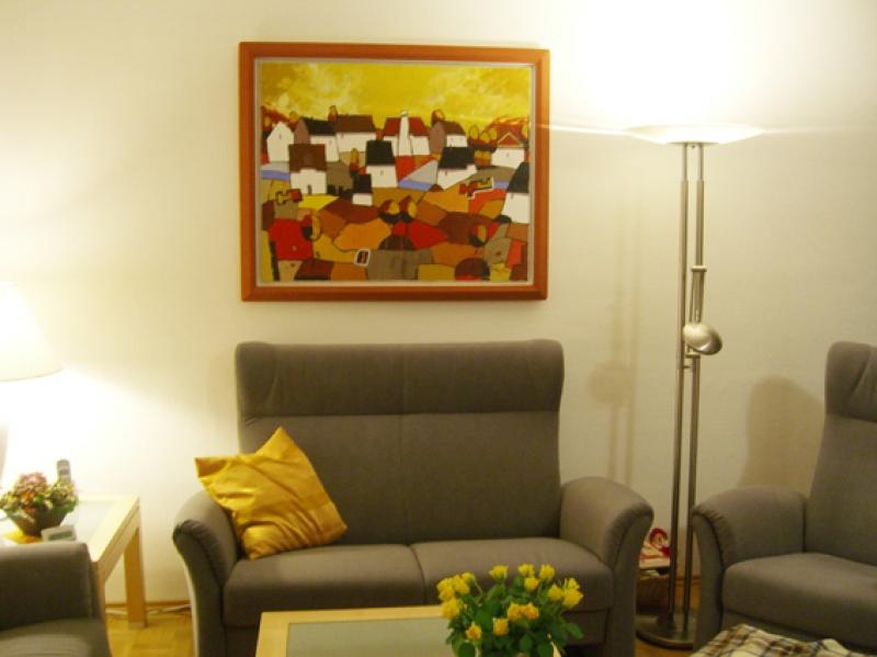 Galerie Wehr richtet Ihre Wohnung  ein.