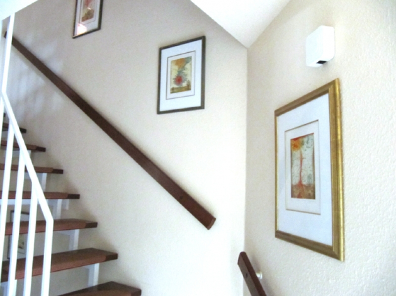 Treppenhauseinrichtung