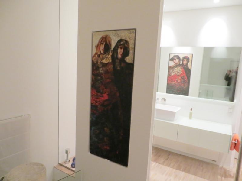 Karl Konz in der Badwand
