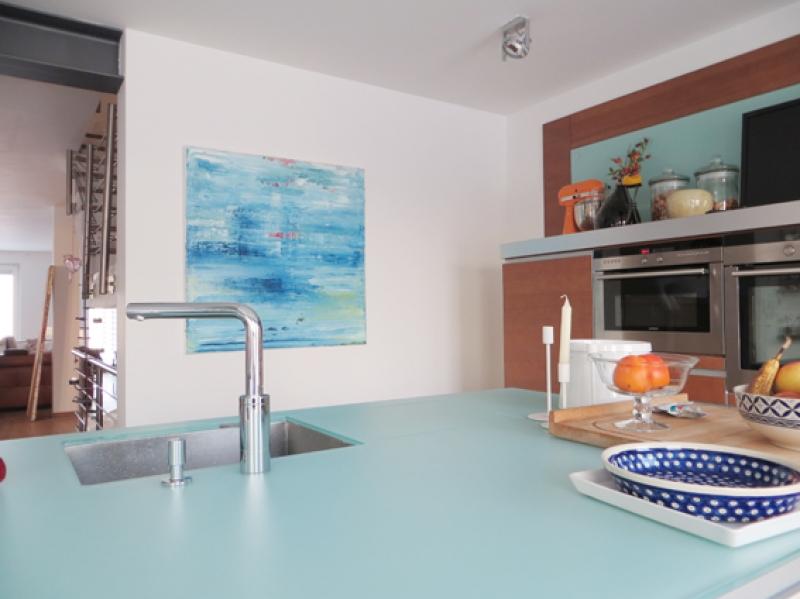 Küche Martina Kropf Aqua
