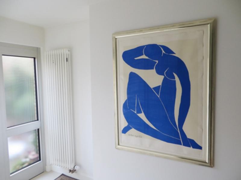 Matisse Blue Nude im Eingangsbereich