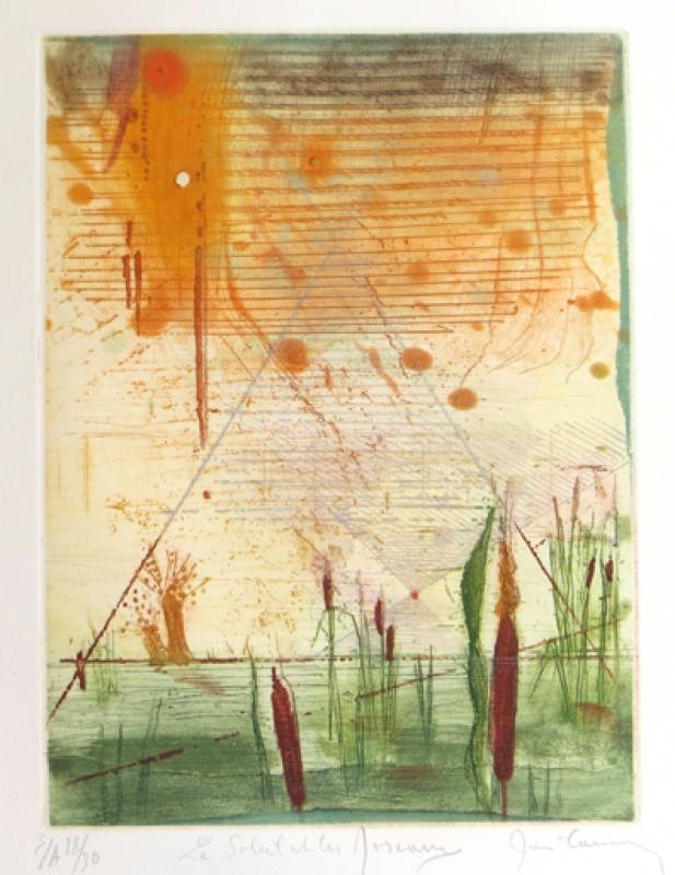 Rene Carcan Galerie Wehr le soleil et les voseaux