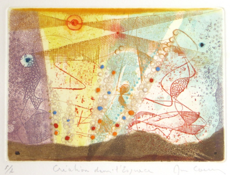 Rene Carcan Galerie Wehr le creations dans l espace