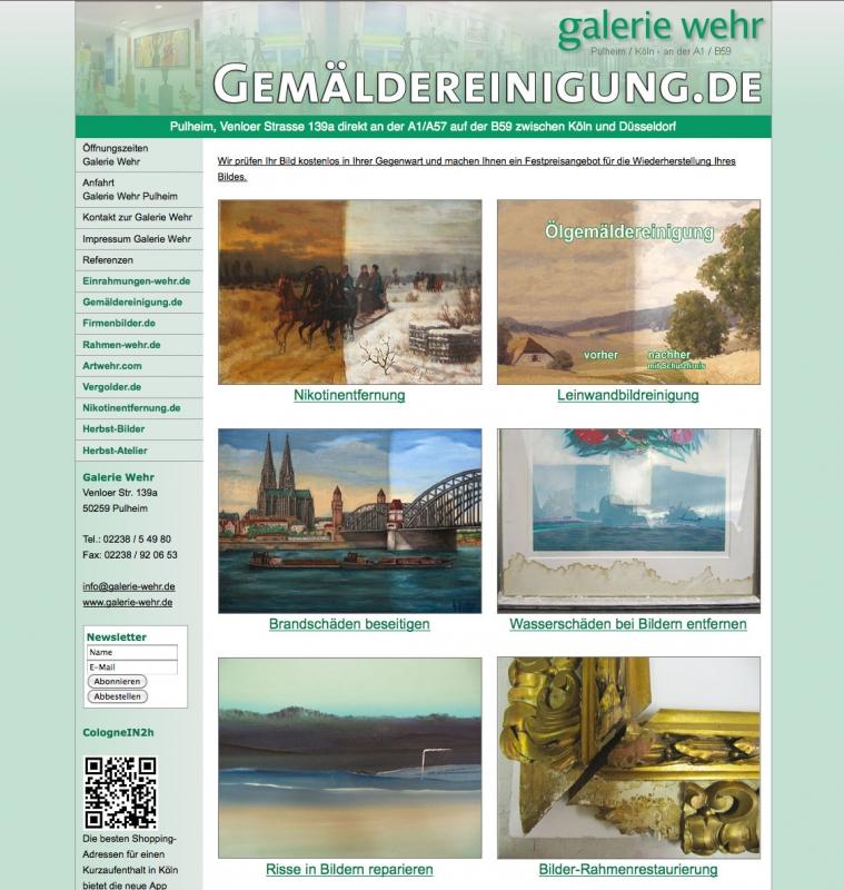 Gemäldereinigung Bonn
