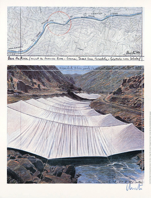 Christo - Over the river