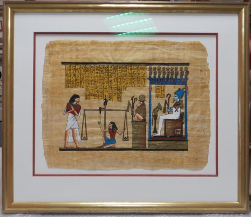 Papyrusbilder rahmen