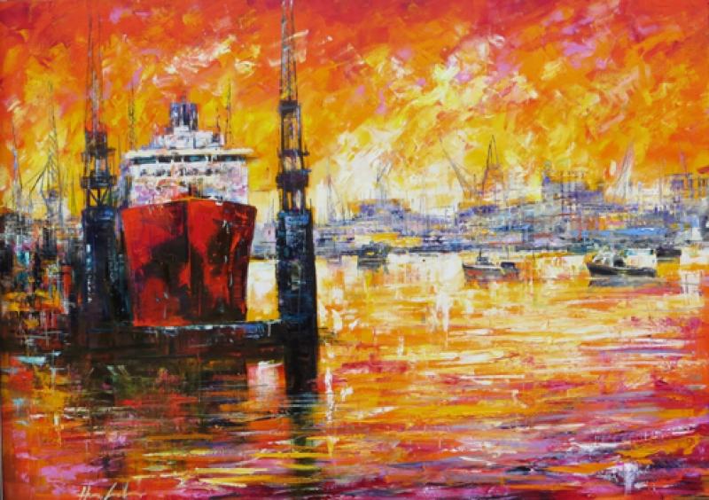 Henze Hamburger Hafen