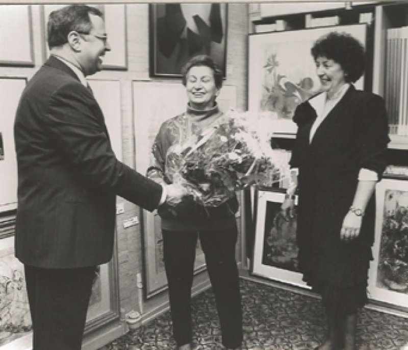 Renee Lubarow in der Galerie Wehr