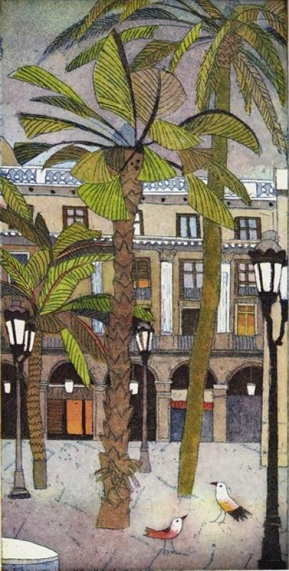 Jutta Votteler | Barcelona Plaza Reial