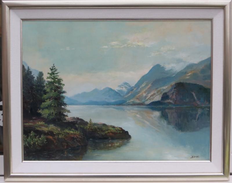 Rahmung altes Gemälde Bübenzer