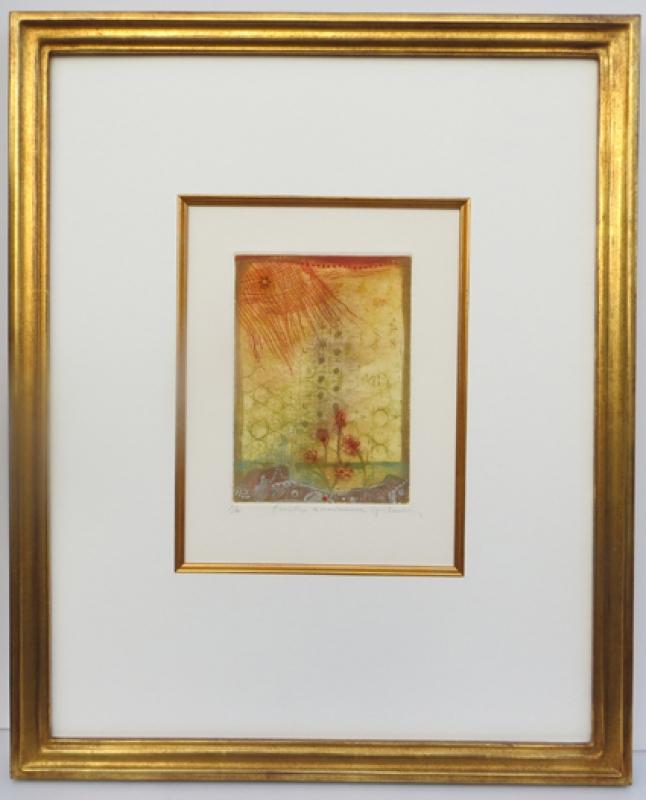 Modellrahmen Echtgold Rene Carcan