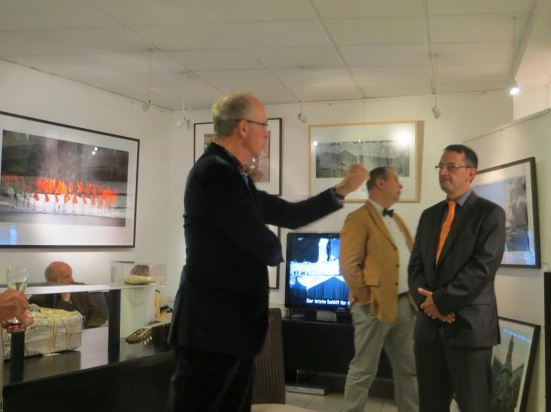 Dr.Filz in der Galerie Wehr