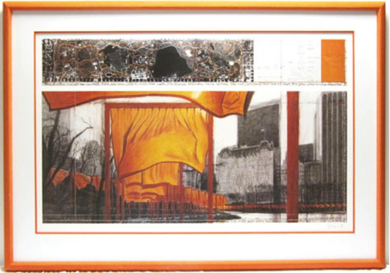 Christo - Christo Rahmen The Gates New York