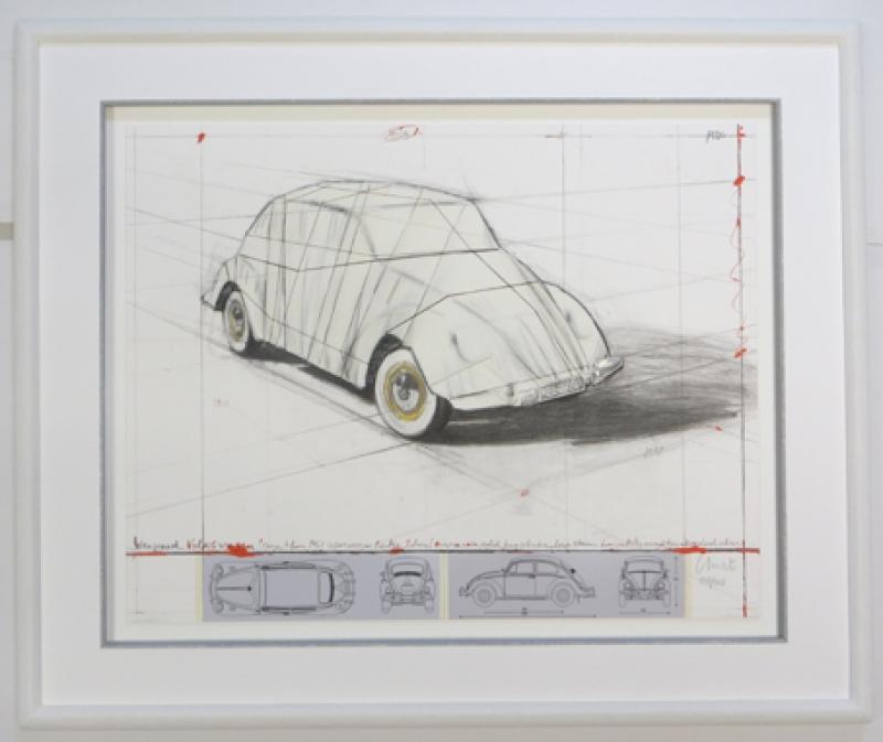 Beetle Christo VW Rahmen