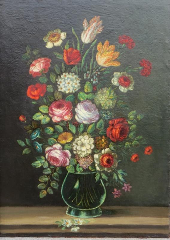 Blumen fertiggereinigt
