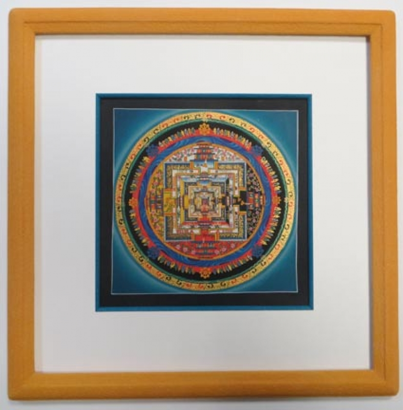 Mandala Nepal Rahmung Wehr Pulheim
