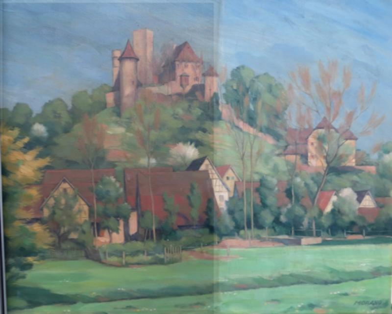 Reinigung Burg