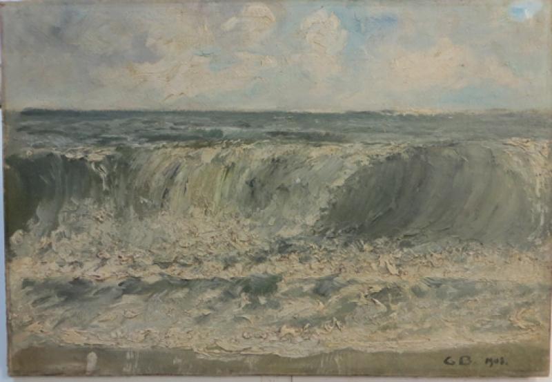 Meeresbild vorher