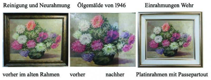 Bilderrestaurierung Kaeschage 1946