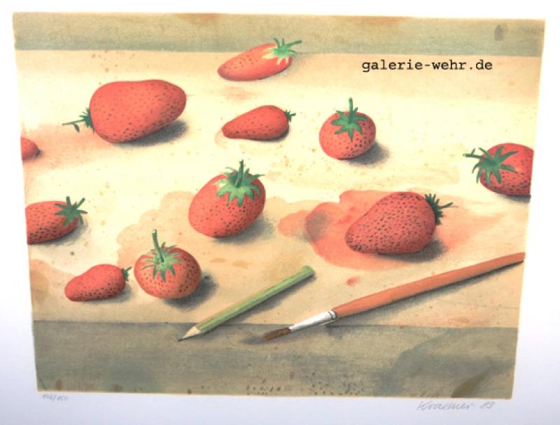 Dieter Kraemer Erdbeeren nr 126