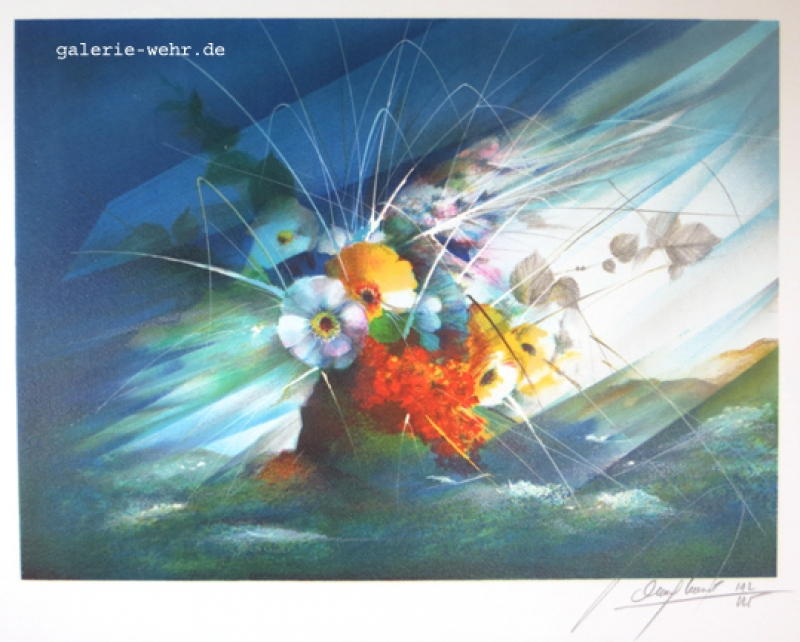 Bouquet dans la mer 209
