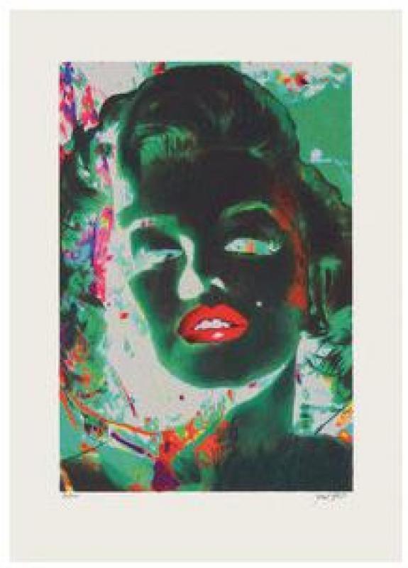 Marilyn in Green Room