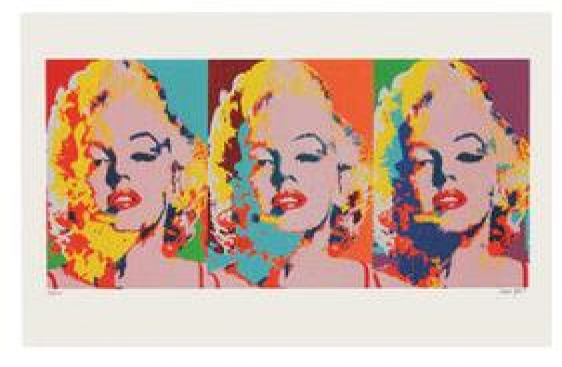 James Francis Gill - James Francis Gill Three Faces of Marilyn