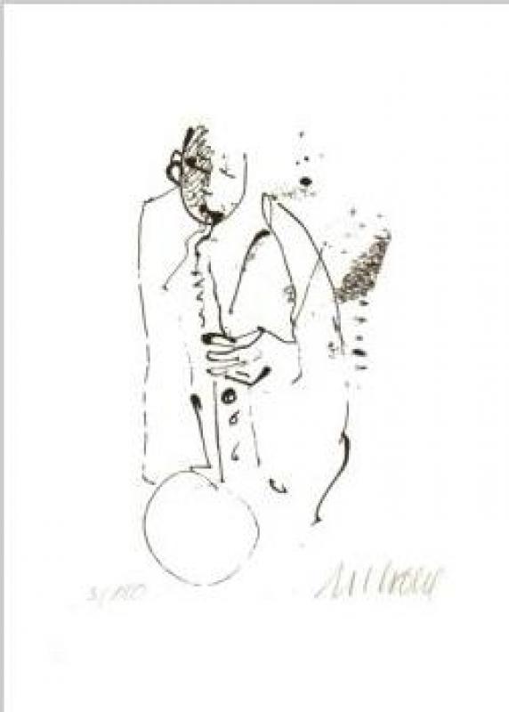 "Saxophonist - Blue Moon"""