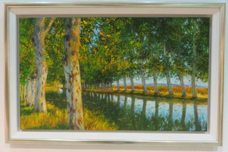Rahmen Uwe Herbst Canal du Midi