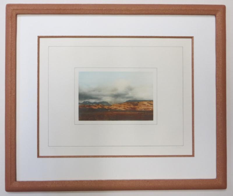 Rahmung Lithographie Gerhard Richter