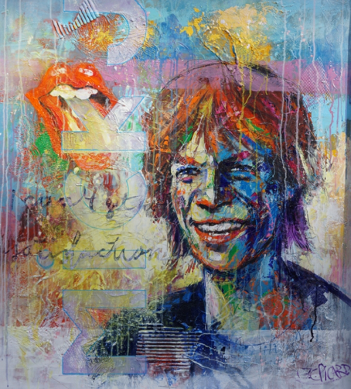 Jean-Claude Picard - Mick Jagger
