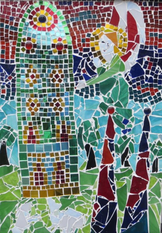 Luci Shatalov Domfenster Mosaik