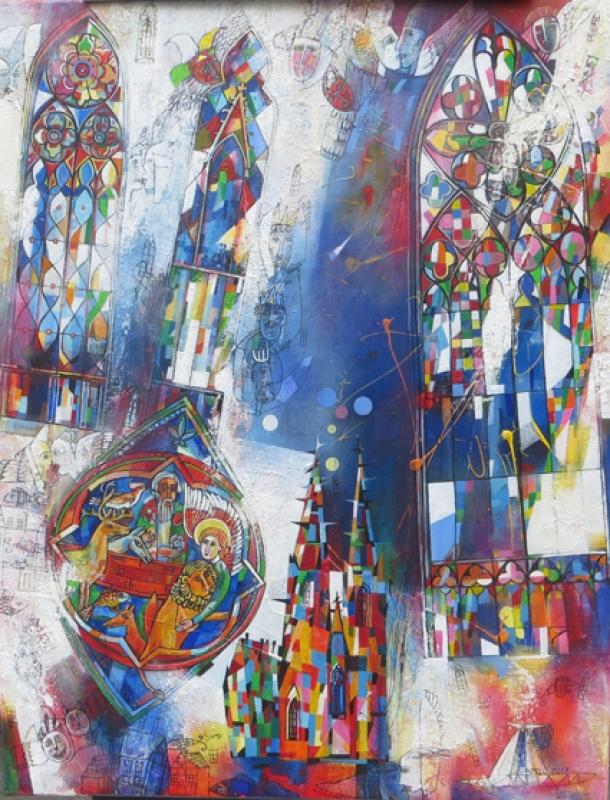Luci Shatalov Fenster Cologne