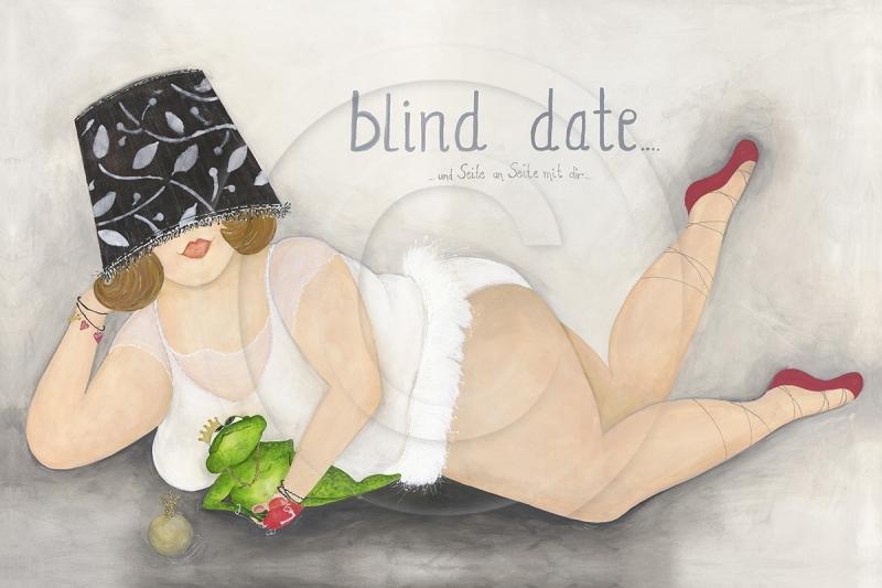 Blind Date und Seite an Seite mit Dir