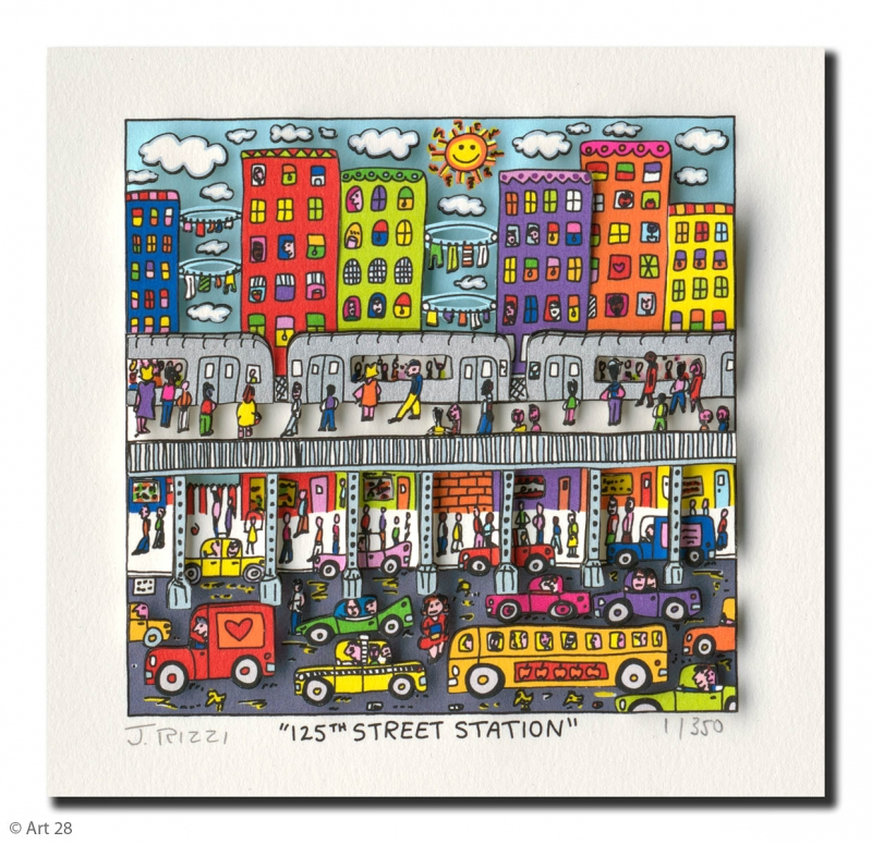 James Rizzi - James Rizzi 125th street station