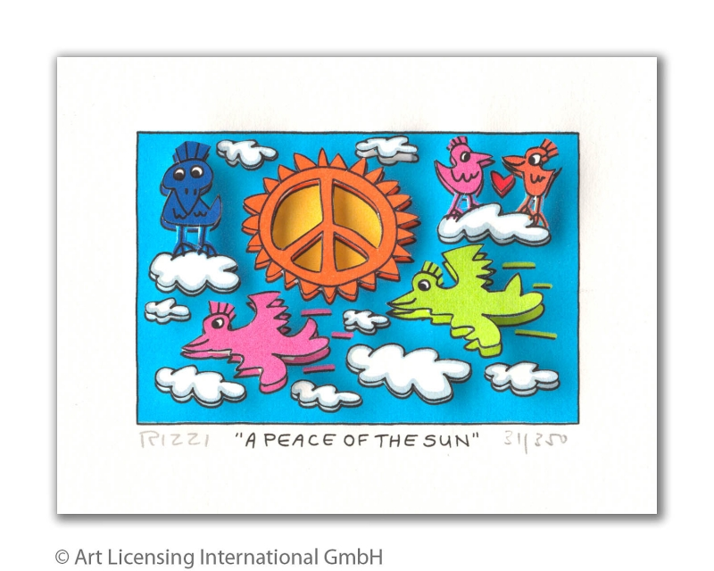 James Rizzi - RIZZI10253 a peace in the sun