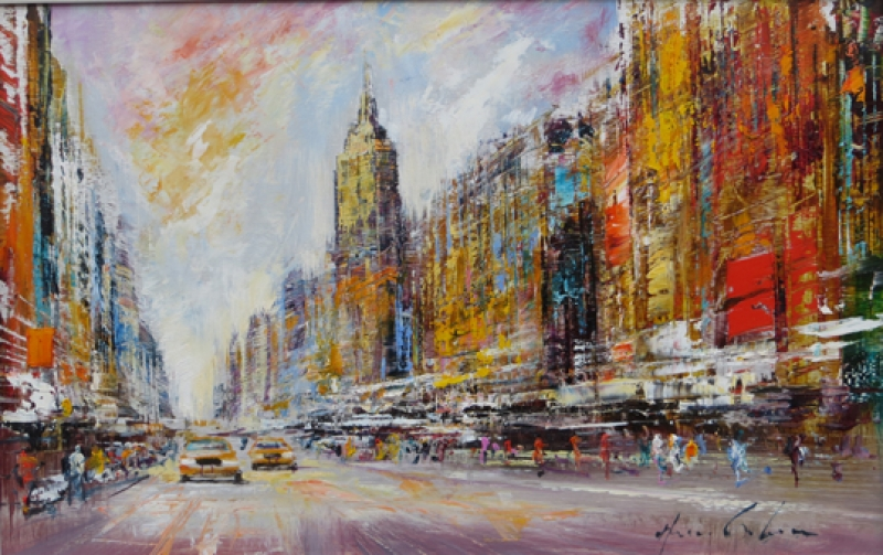 Christian Henze - Christian Henze New York 2945 Galerie Wehr