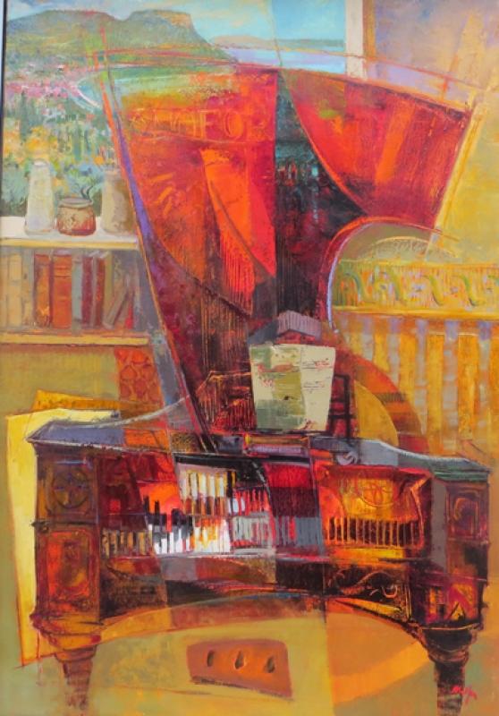 Mario malfer Piano Forte Galerie wehr90130
