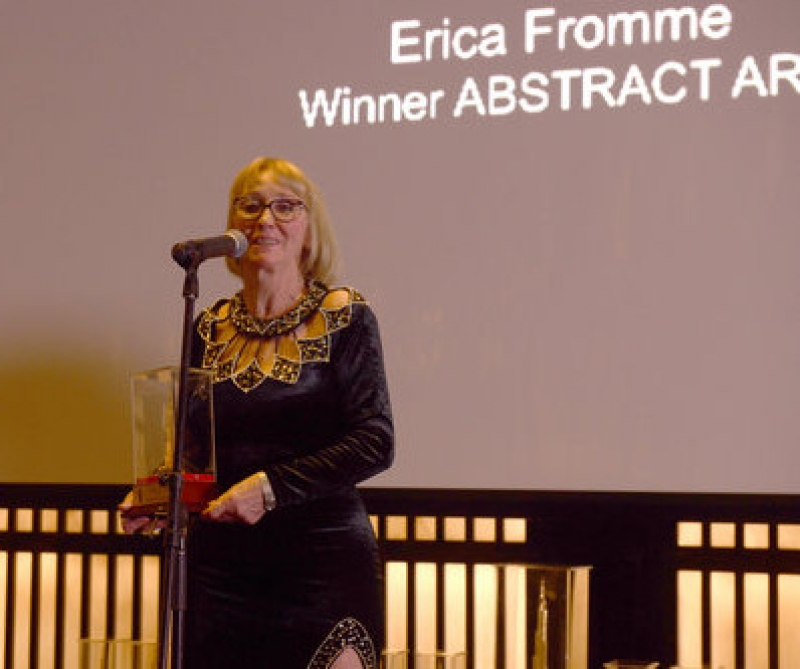 Erica Fromme Winner Global Art Award - Abstract Art, Dubai