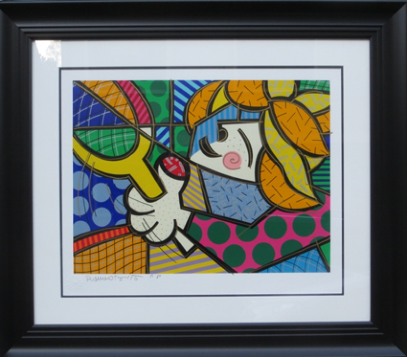 Romero Brito Tennis Girl
