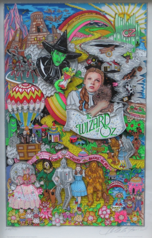 Charles Fazzino The Wizard of OZ