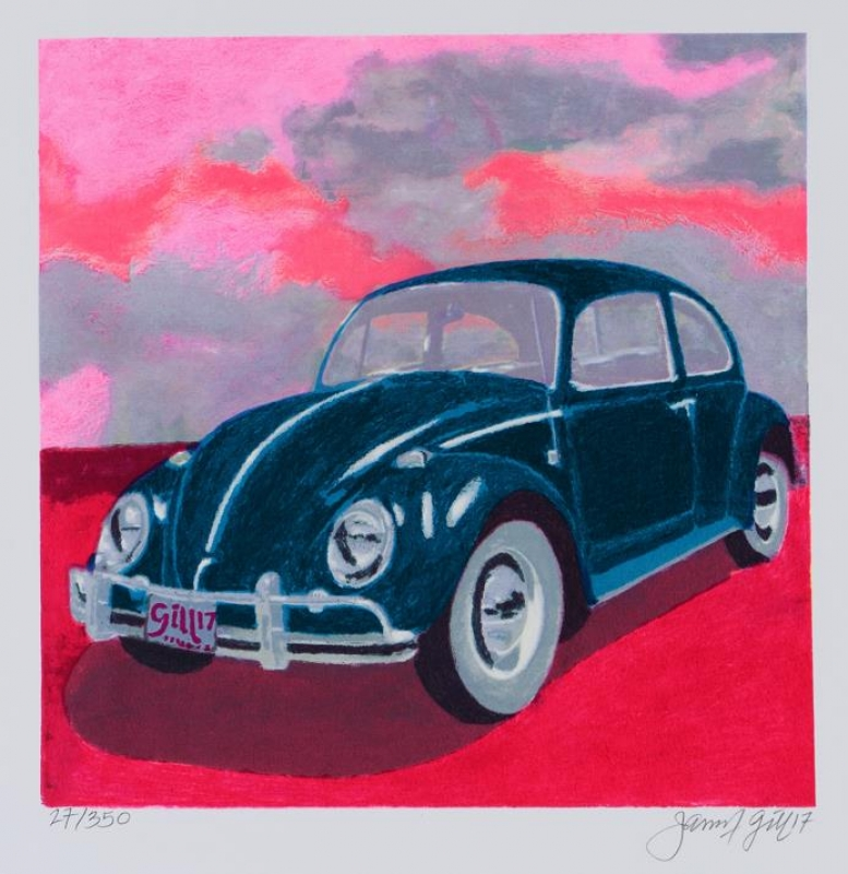 James Francis Gill - Gill MINI BUG - PINK SKY