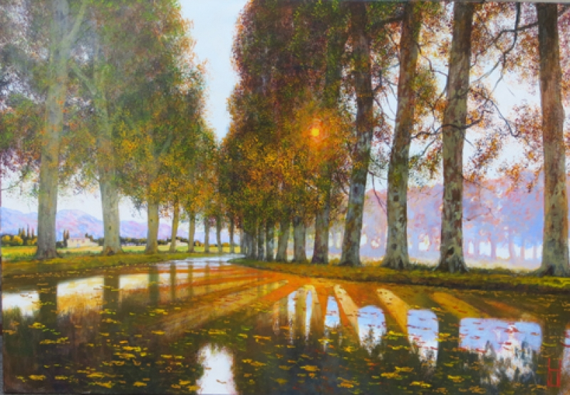 Uwe Herbst Canal du Midi groß