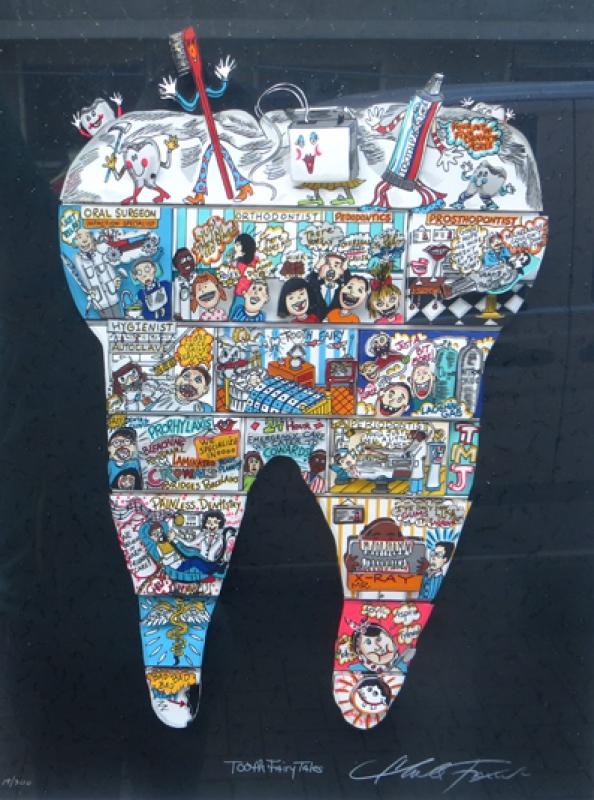 Charles Fazzino Tooth Fairy Tales