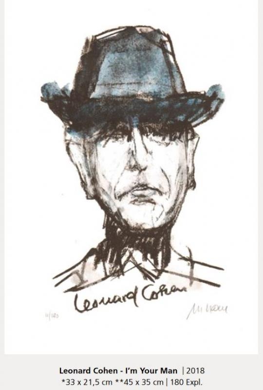Leonard Cohen I m your man